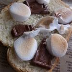 マシュマロチョコトースト