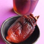 干し柿の焼酎漬け