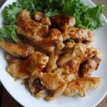 鶏胸肉のしょうが焼き