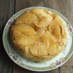 りんごのフライパンケーキ