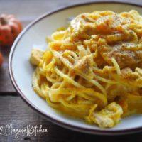 かぼちゃのクリームスパゲッティ