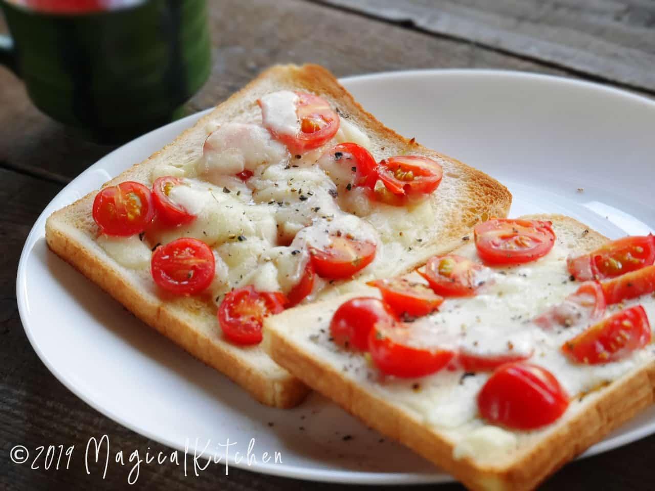 トマトトースト