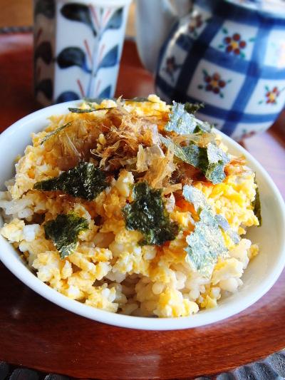 レンジ炒り卵
