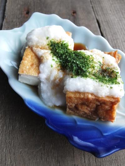 とろろ豆腐ステーキ