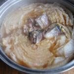 白菜サバ缶煮