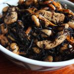 ひじきと大豆鶏の煮物