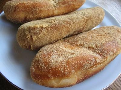 コッペパンの揚げパン