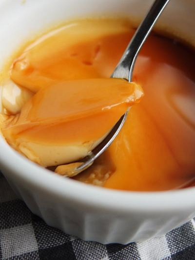 豆乳入りレンジプリン