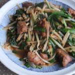 鶏のレバニラ炒め