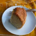 バナナシフォンケーキ