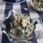 小松菜とツナのヨーグルトあえ