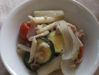 鶏と野菜の蒸し煮2