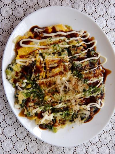 小松菜お好み焼き