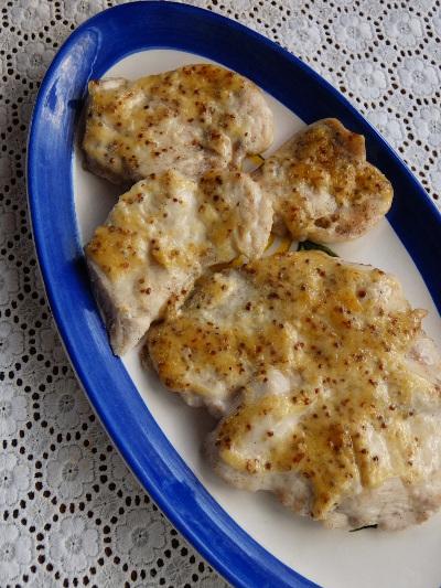 鶏のマヨマスタード焼き