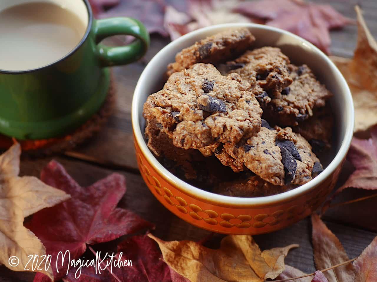 オートミールコーヒークッキー