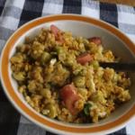 豆カレー炒飯