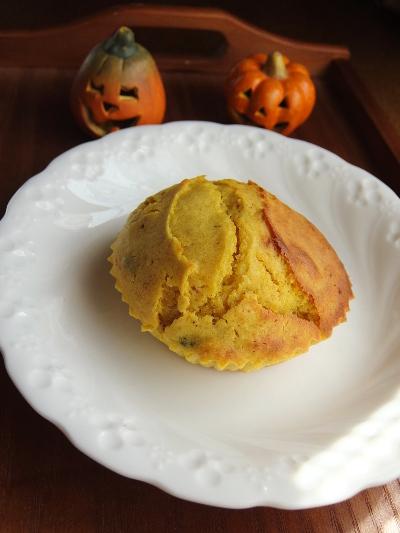 かぼちゃマフィン