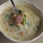 豆のミルクスープ