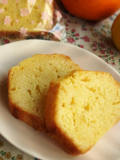 伊予柑パウンドケーキ