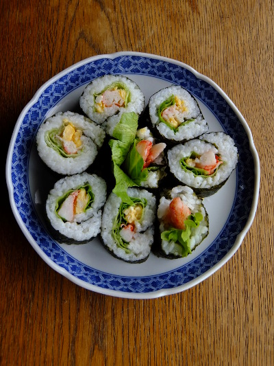 サラダ巻き寿司