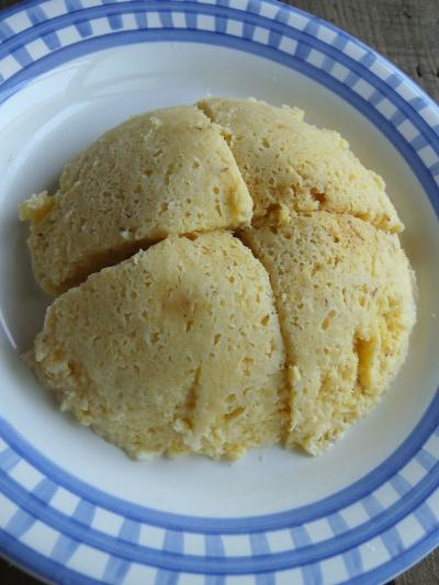 レンジおから蒸しパン