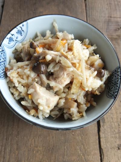 鶏五目炊き込みご飯