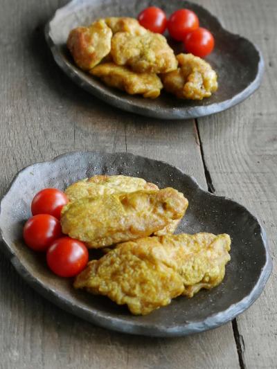 鶏むねのカレー揚げ