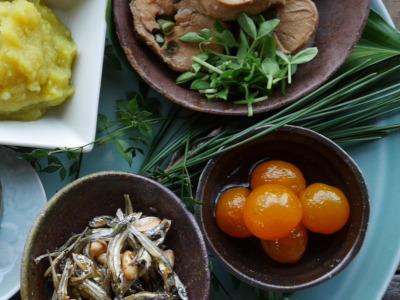 おせちの金柑の甘露煮