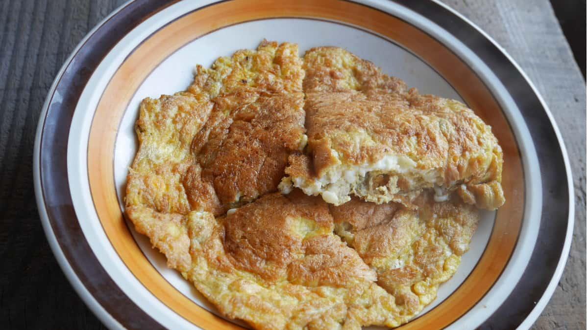 えのきの卵焼き