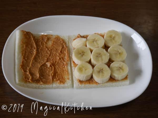 ピーナッツバターバナナ