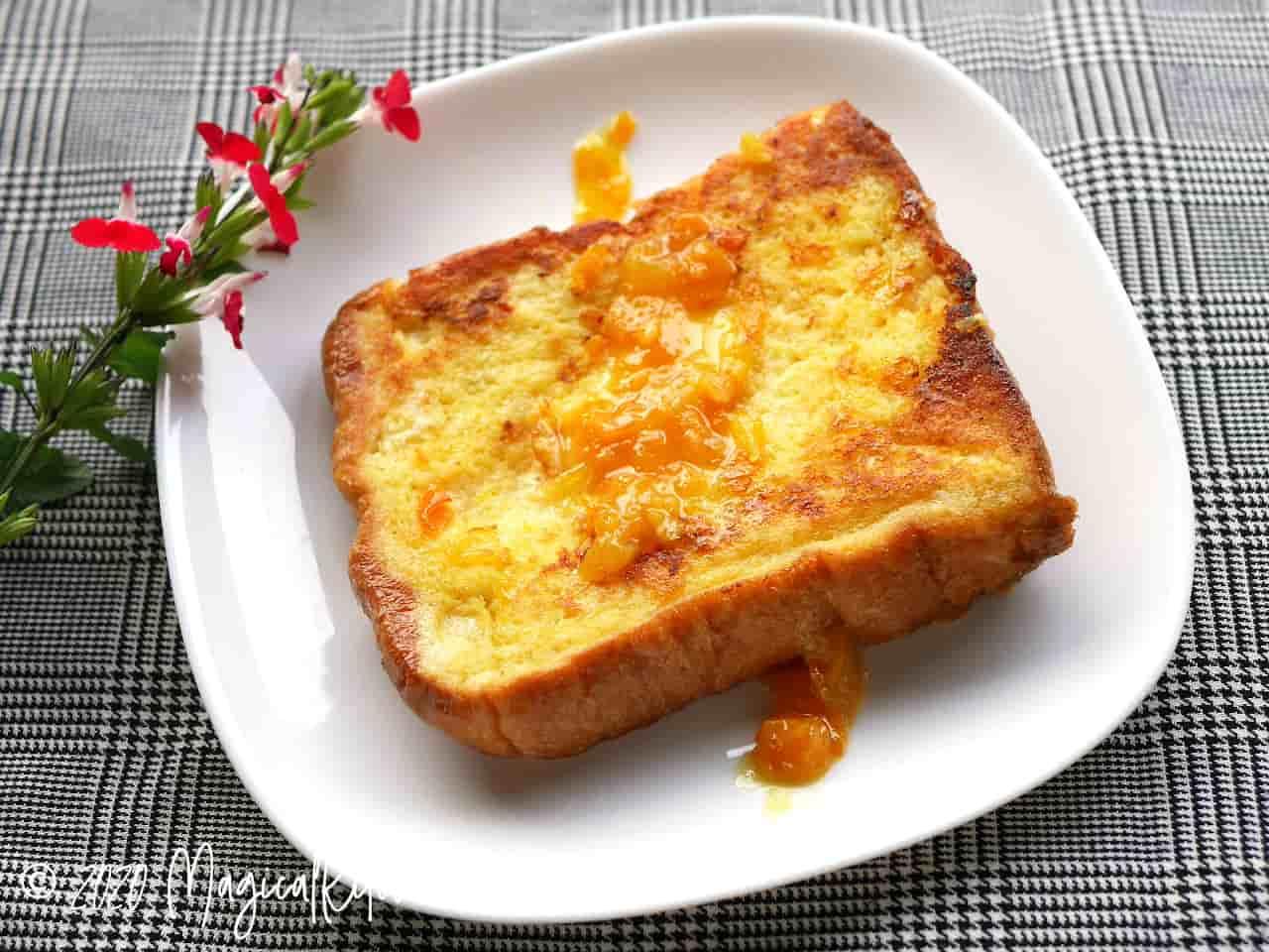 マーマレードフレンチトースト