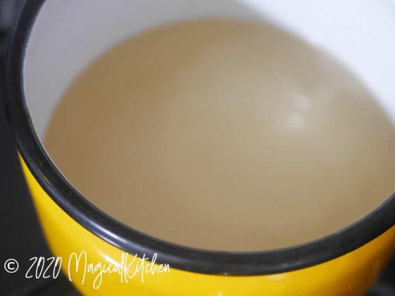 甘酢を作る