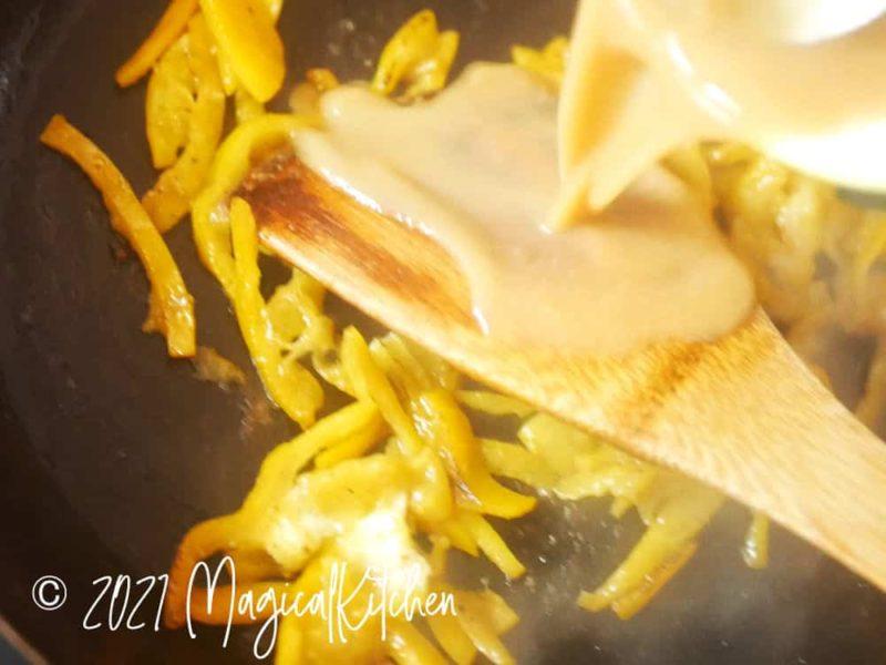 金柑の味噌ダレ