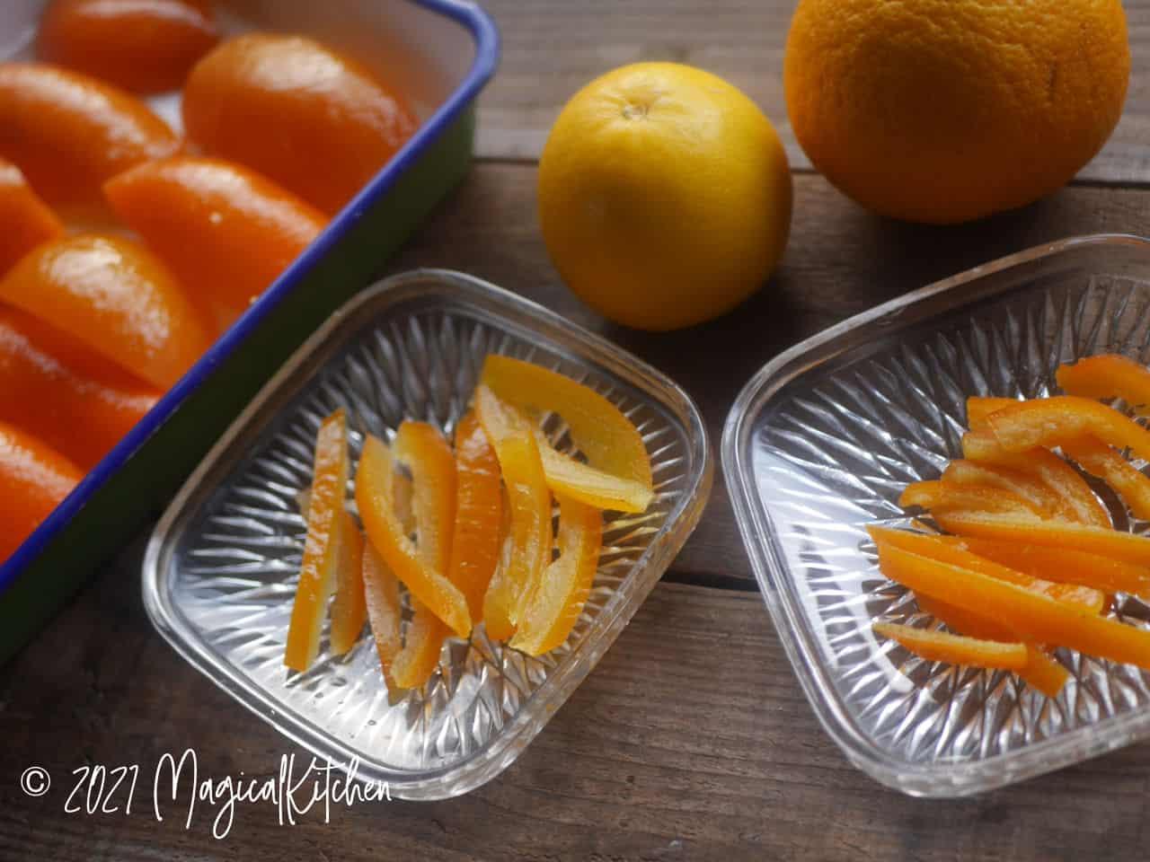 自家製オレンジピール