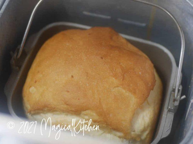 ご飯パン焼きあがり