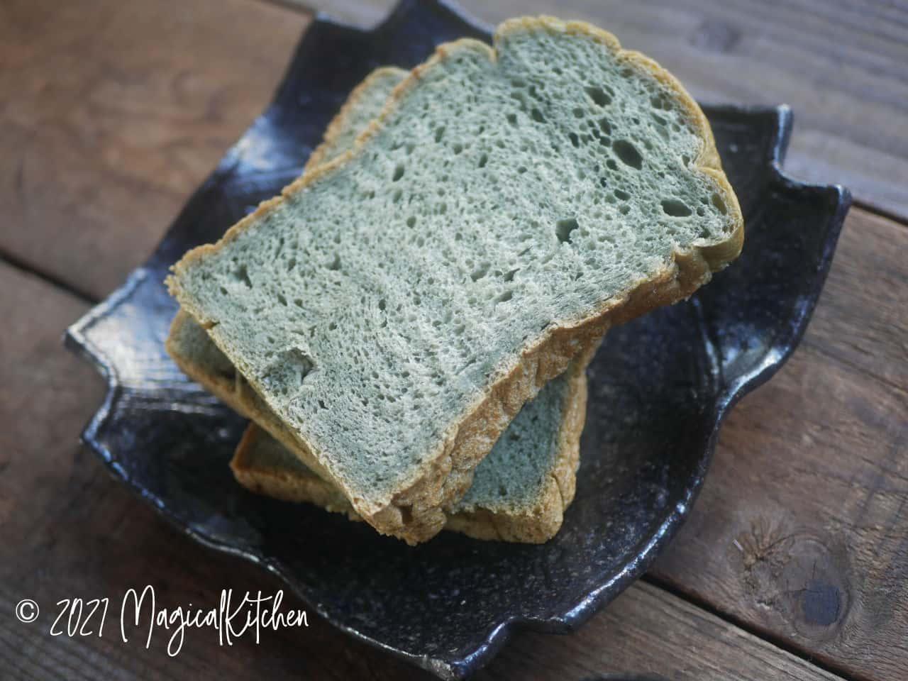 よもぎご飯食パン